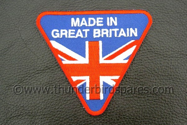 Patch Made In Great Britain Sew Iron On Classic Insignia