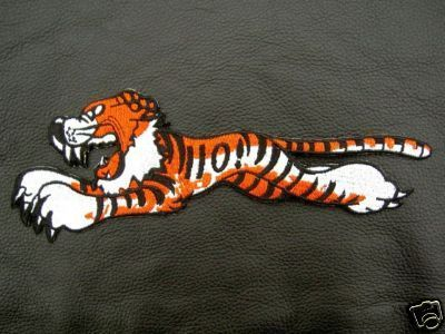 Patch Triumph Leaping Tiger T110 Rockers Insignia