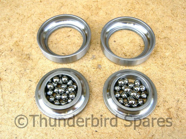 Steering Head Bearing Set, BSA A, B and M Series 1946*-1970
